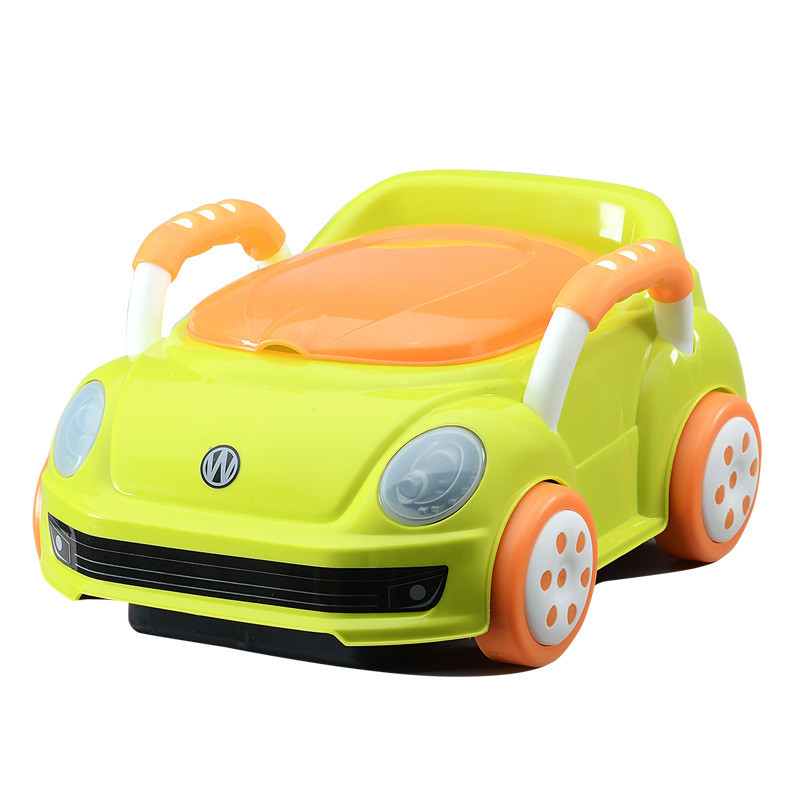 New Cartoon Car Cute Pot Backrest Children's Potty For Newborns Kids Urinal Toilet Seat Potty Training Children's Chair