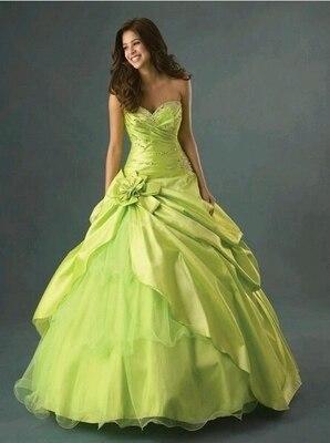 Online Get Cheap Lime Green Ball Gown Dresses -Aliexpress.com ...