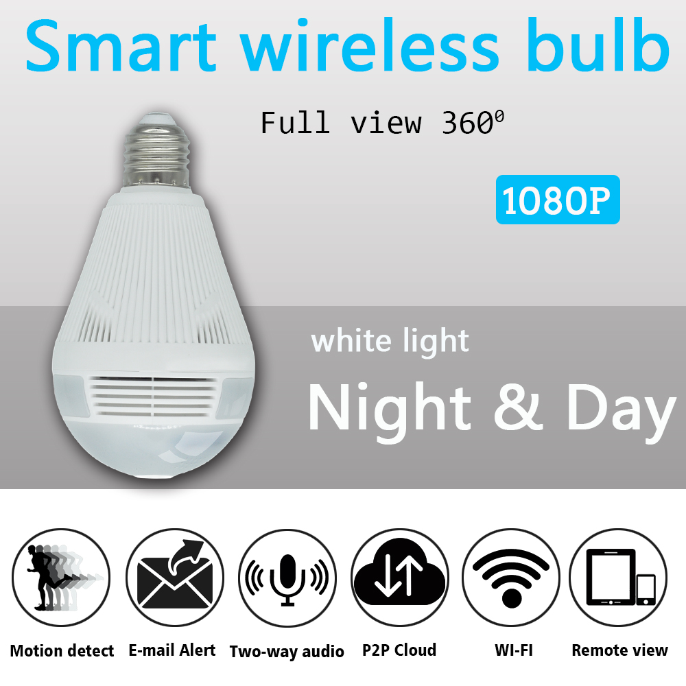 Aliexpress.com : Buy OUERTECH 360 degree Two way audio white light ...