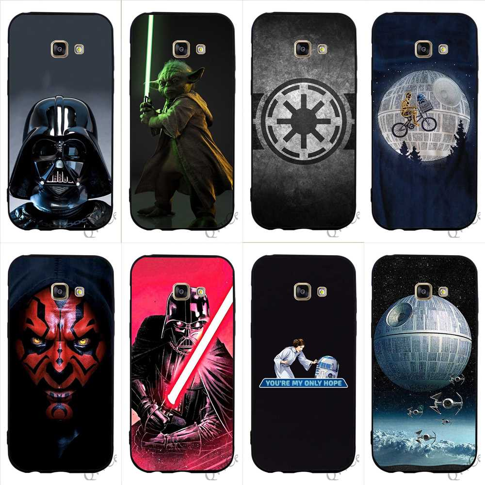 Stuff4 Phone Case Wallet for Samsung Galaxy J3 Astromech Droid Black Imperial Design Flip Faux PU Leather Cover