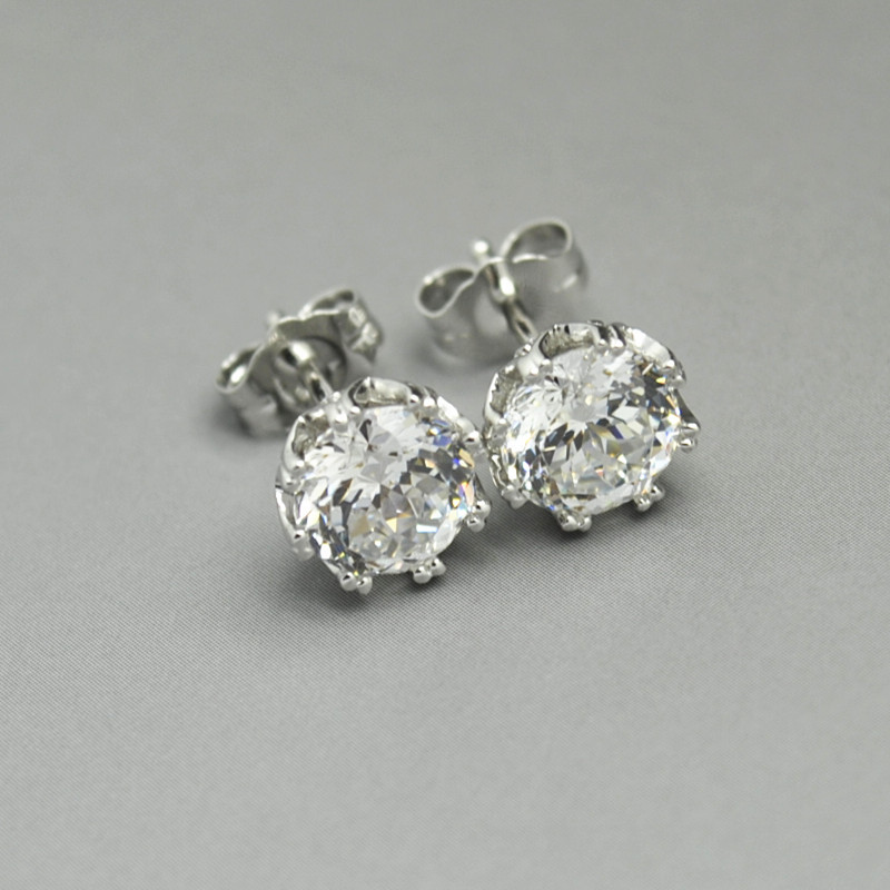 Qvc Tacori Epiphany Diamonique 2 35ct Bloom Round Shape Studs Earrings In Stud From Jewelry Accessories On Aliexpress Alibaba Group