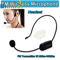 Radio FM Wireless Headset Microphone Handsfree Megaphone Mic for Speaker Teacher Mikrofon microfono microfone Play NOV22