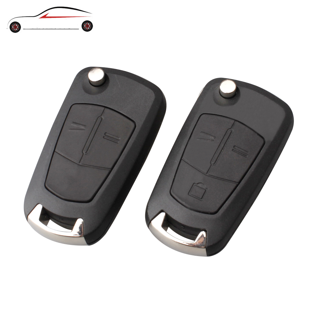 GORBIN Remote Folding Car Key Cover Fob Case Shell Styling Case For Vauxhall Opel Corsa Astra Vectra Signum Original key shell(China)