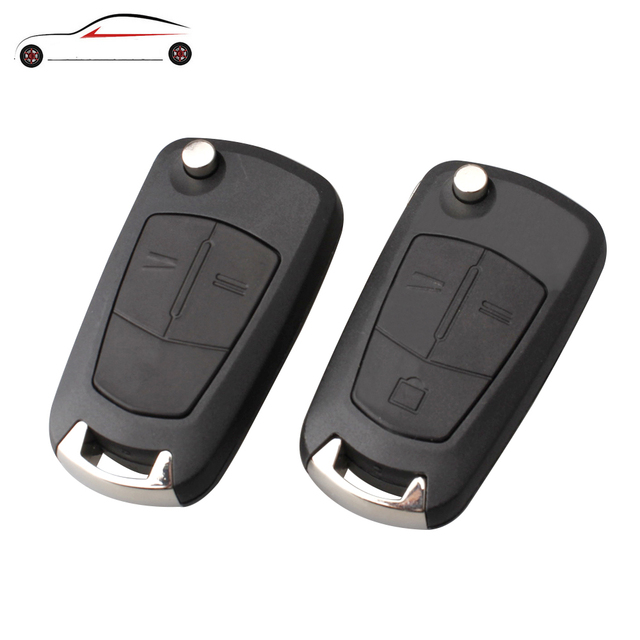 Funda de llave de coche plegable remoto GORBIN funda de estilo de carcasa para Opel Corsa Astra Vectra Signum llave Original shell