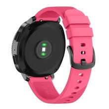 Novo Esporte Macio Substituição Pulseira de Silicone Alça de Pulso Para Samsung Engrenagem Pro Esporte de reloj Drop Shipping18Feb03