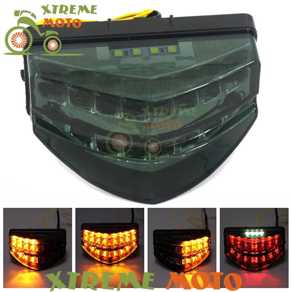 Motorcycle LED Rear Turn Signal Tail Stop Light Lamps Integrated For Honda CBR 600 F4I CBR600 F4i 2001 2002 2003 01 02 03 motorcycle engine motor stator crankcase cover for honda cbr600 cbr 600 cb600r f4i 2001 2002 2003 2004 2005 2006