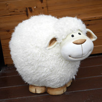 Creative Cute Sheep Crafts Home Accessories Living Room Decorative Ornament Resin Crafts Wedding Gift Family Christmas