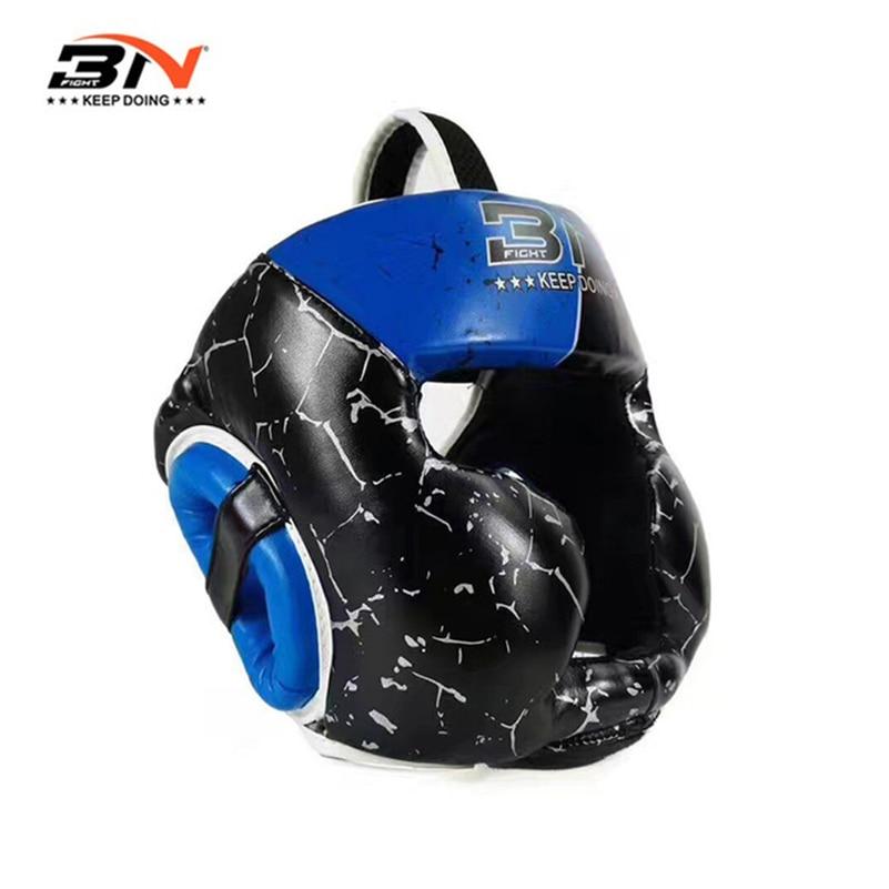 Новинка 2017 года от 6 до 10 лет Муай Тай Бокс шлем Kick Бокс тхэквондо каратэ детей оборудования Боксёрский шлем