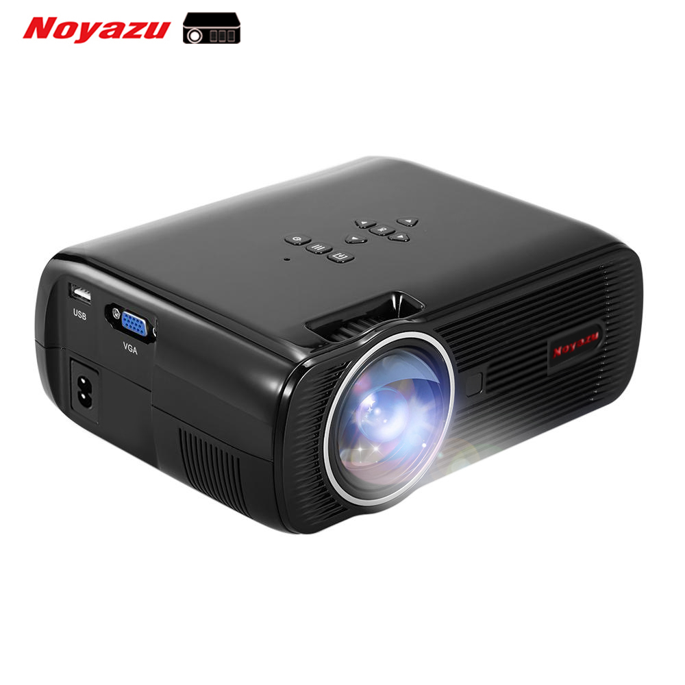 Newest original bl 80 lcd projector mini portable 1800 for Highest lumen pocket projector