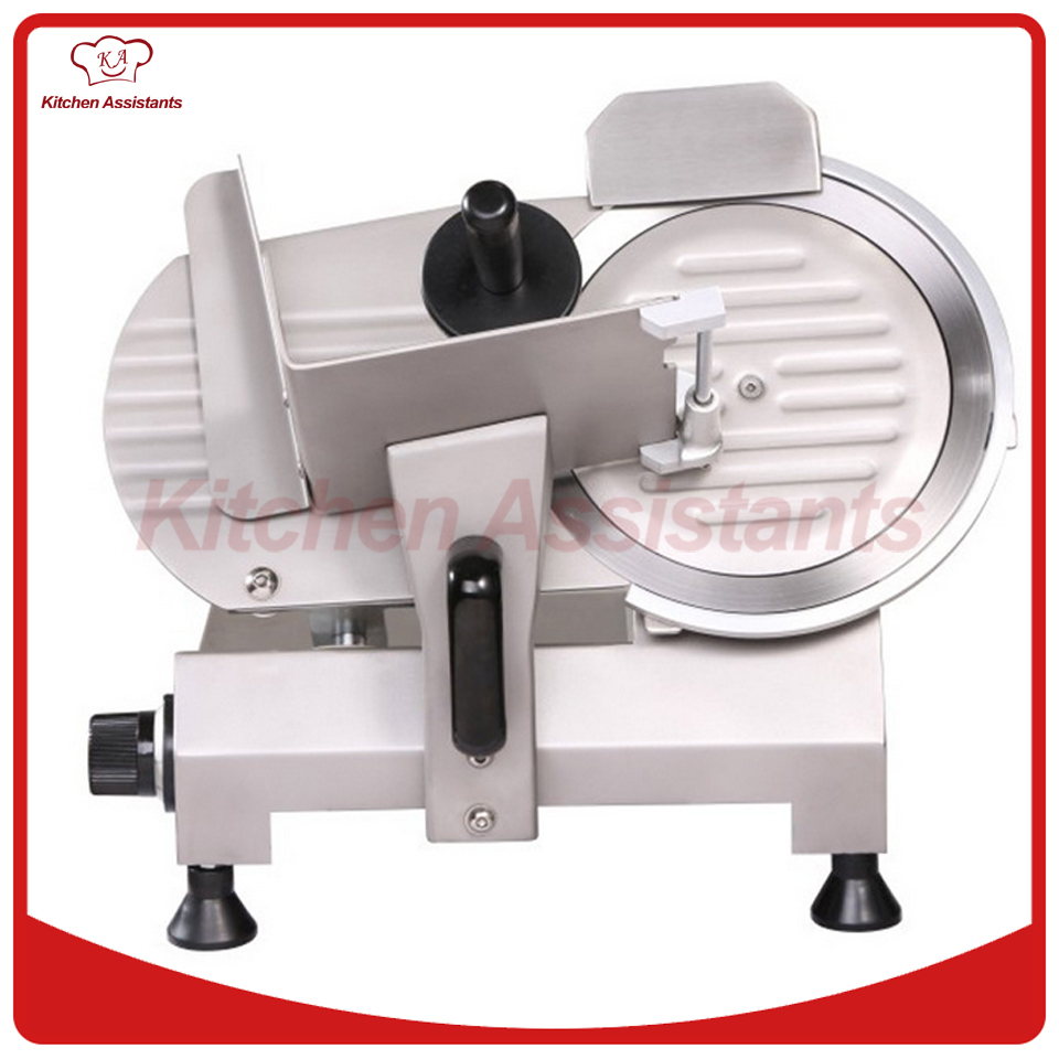 250S 10 inch 250mm stainless steel commerical electric mini china semi automatic meat slicer meat cutter machine
