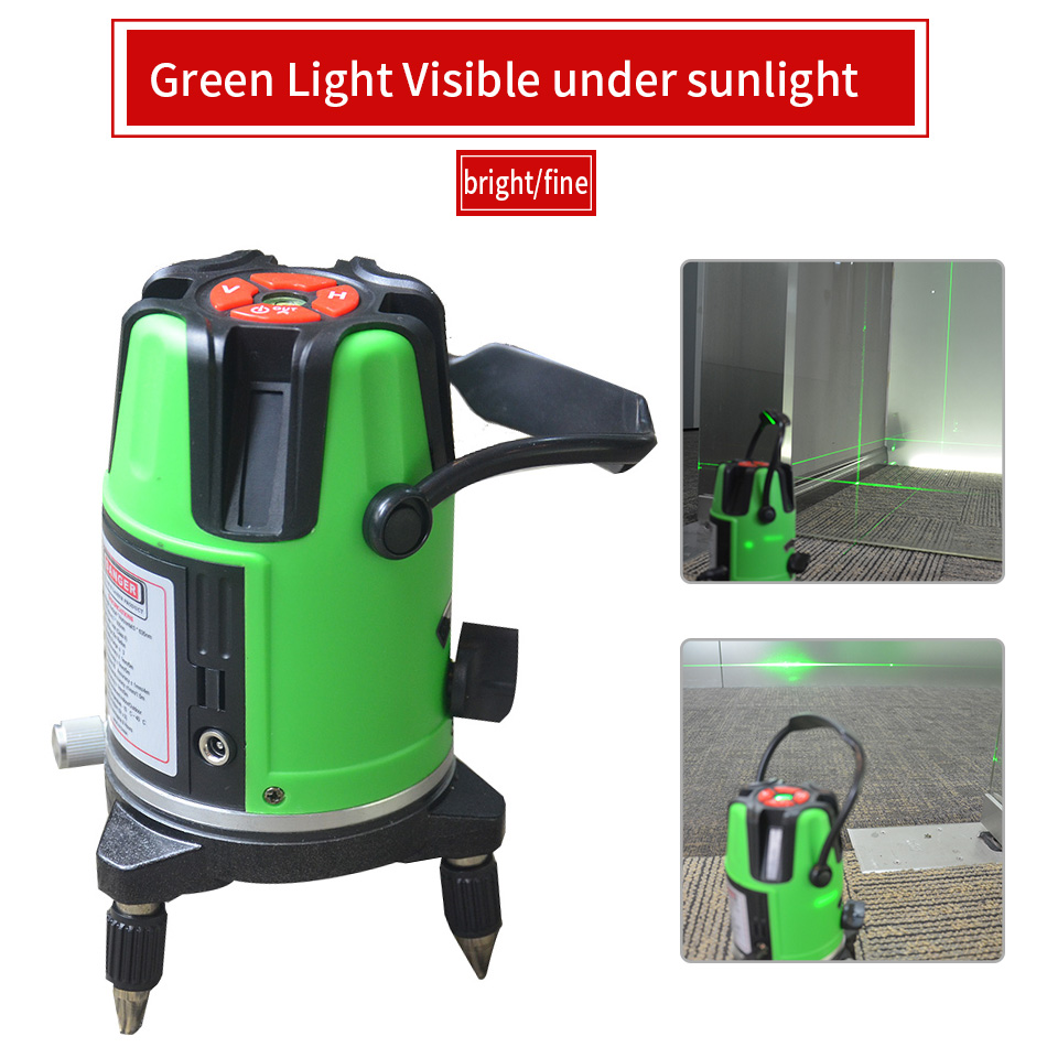 2 Lines 3 Lines 5 Lines Green Laser Level Outdoor Laser Super Light Line 2/3/5 Rechargeable Infrared Self- leveling Laser Levels бордюр navarti mosaic lux lines cacao cristal 2 5x60