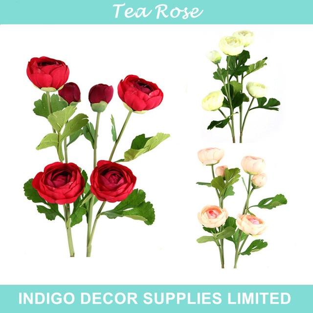 Indigo wholesale 100pcs tea rose tea rose decorative flower indigo wholesale 100pcs tea rose tea rose decorative flower artificial wedding flower party event silk mightylinksfo