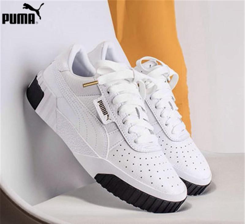 a08a07a2e5f PUMA Mulheres Cali Plataforma Sneaker 369155-Cesta de Rihanna 04 Euforia  Parte Superior Das Mulheres