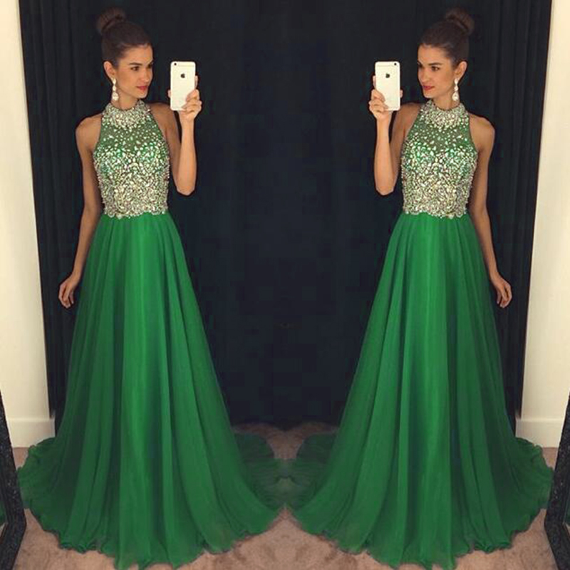 Compare Prices on Hunter Green Prom Dresses- Online Shopping/Buy ...
