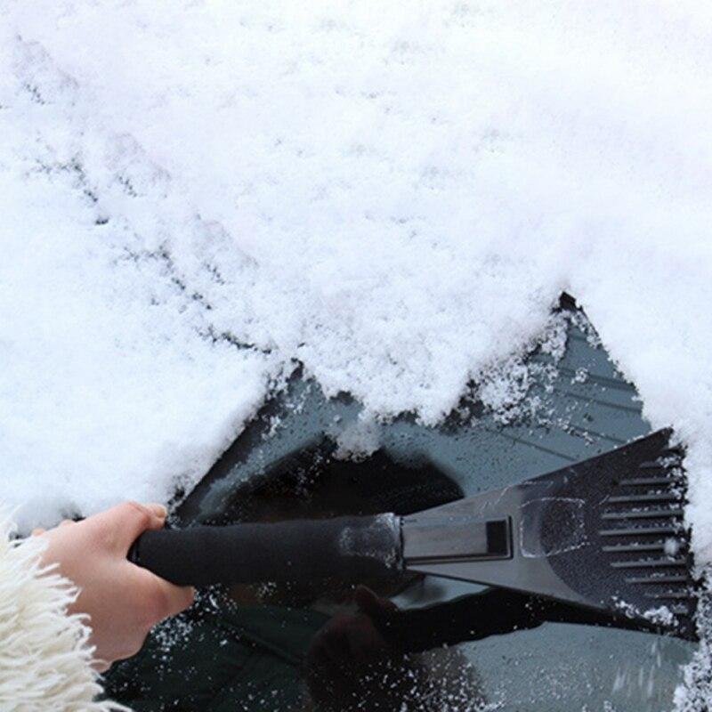 Зимняя защита автомобиля снег лопатой Снежная скребок для удаления царапин долото лезвия для гаражей навесы