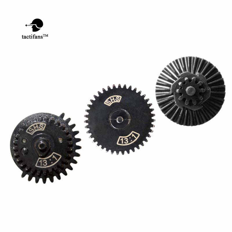 Tactifans MA13:1 16:1 18:1 32:1 100:200 100:300 High Speed Gear Set Voor Ver.2 / 3 Aeg/Ebb Airsoft Versnellingsbak Vertraging Sector Clip