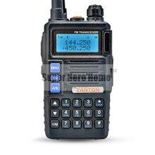 YANTON VHF 136-174 UHF 400-480MHz UV Dual Band Tri-Band 350-390MHz Portable Two Way Radio High Power 5W Waterproof Walkie Talkie