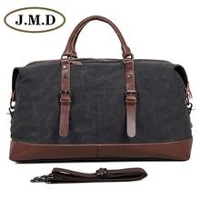 J.M.D Durable Canvas Mens Luggage Travel Bag Unisex Handbags Tote Designs 9038
