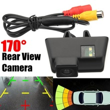 170 Degree CCD Car Reversing Rear View License Plate font b Camera b font Auto Parking