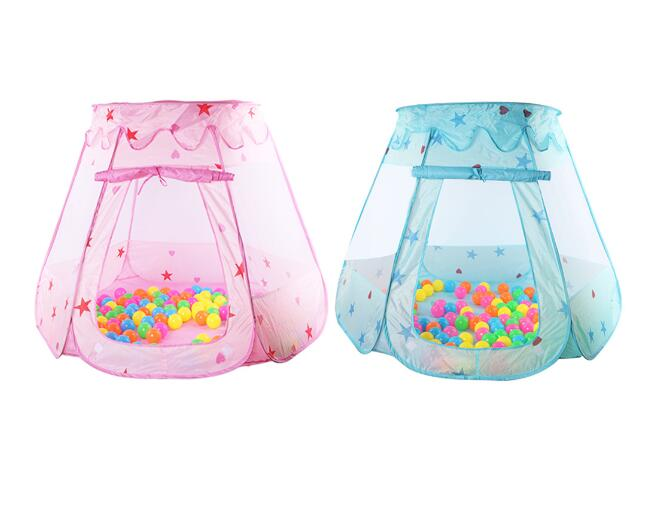 Portable Childrens Ten Kids Play Tents Indoor Outdoor Play House Baby Ocean Ball Pit Pool Princess Tent for Girls Baby