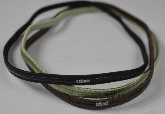 Scunci series silica gel hair band sports headband yoga band-in Hair ... d097b6e6374