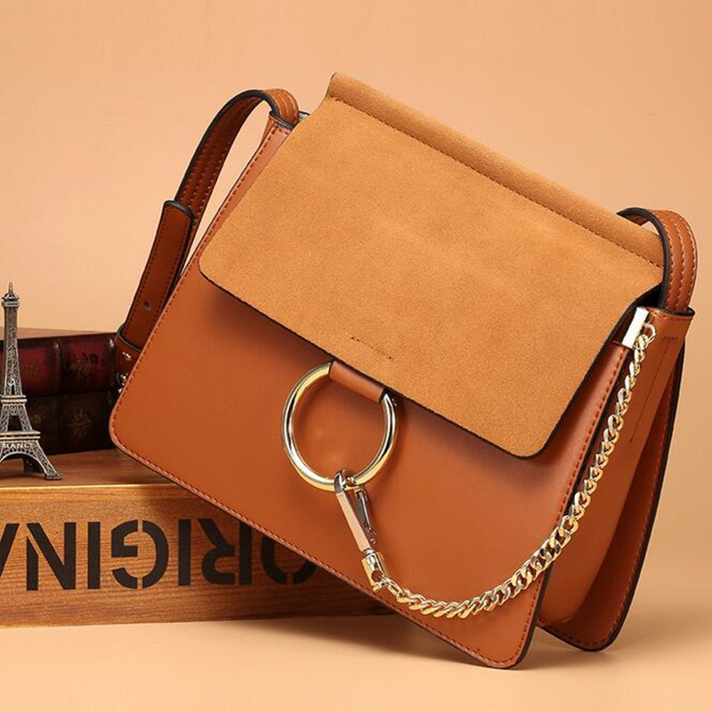 Fashion Matte Retro Women Bags Cow Split Leather Bags Women Shoulder Bag Chain Messenger Bags fashion matte retro women bags cow split leather bags women shoulder bag chain messenger bags