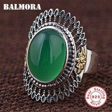 BALMORA 100% réel 925 argent Sterling redimensionnable anneaux pour les femmes mère amant fête cadeau Vintage mode bijoux Anillos MN20778