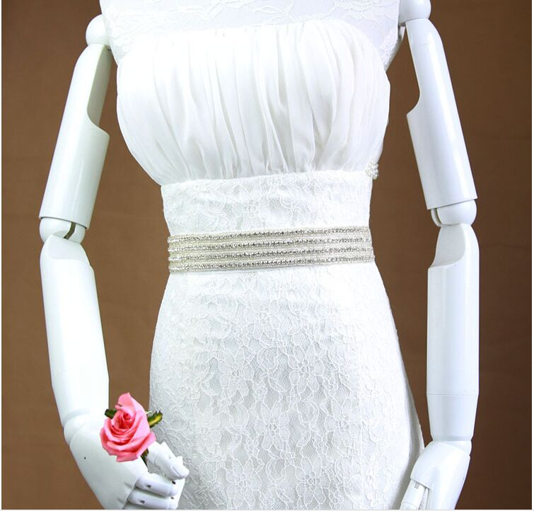 New Ankunft Luxus Handgefertigte Brilliant Hochzeit Gürtel/diy Taille Gürtel/formales Kleid Gürtel 1199 Hochzeit Zubehör Weddings & Events