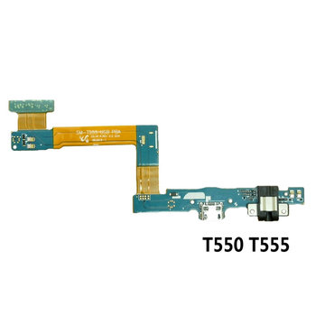 For Samsung Galaxy Tab A 9.7 T555 SM-T555 T550 USB Charge Dock Jack Connector Charging Port Flex Cable image