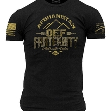 1b2255c9 OEF Fraternity T-Shirt- Grunt Style Mens Graphic Military Tee Shirt(China)