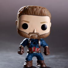 The Marvel Avengers3: Infinity War Captain America PVC Action Figure Collected toys for Children gift