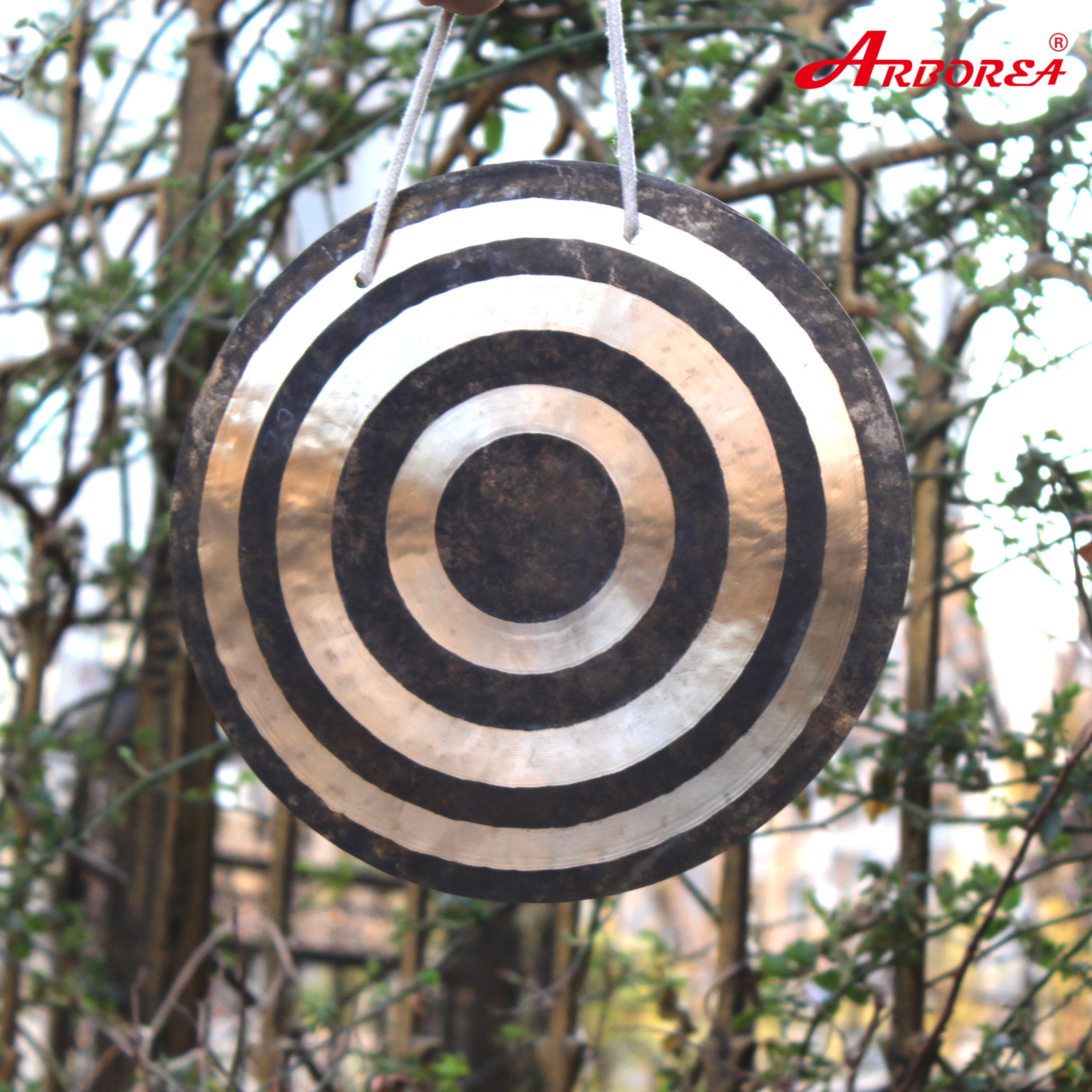 Arborea 100% Hand Made 14'' Sun Wind Gong For Sale