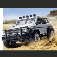 Professional remote control truck HG-402 2.4G 1:10 49cm four wheel simulation 4WD driving system RC climbling truck vs 10428-A