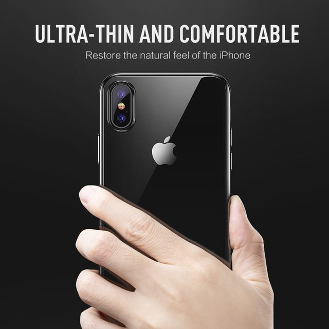 iPhone transparent Watanabe color Slim TPU Back Case shell for iPhone iPhone XR, XS MAX, XS, X, 8 Plus, 8, 7 Plus, 7, 6S, 6, SE, 5s, 5