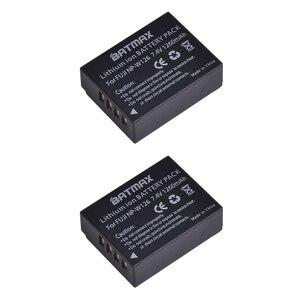 Image 2 - 4 Pcs 1260 mAh NP W126 NP W126 NPW126 Pin cho Fujifilm Fuji X Pro1 XPro1 X T1 XT1, HS30EXR HS33EXR X PRO1