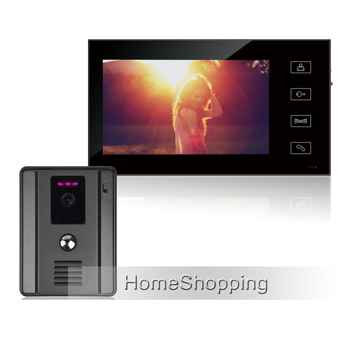 FREE SHIPPING New Wired 7 Color Touch Sensor Button Screen Video Door Phone Intercom System + 700TVL Doorbell Camera IN STOCK free shipping 10pcs ad9850brs in stock