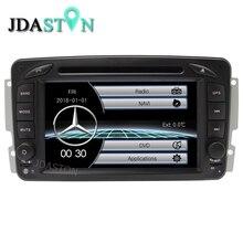 JDASTON Ursprüngliche UI Niedrigen Preis Auto Multimedia-Player für Mercedes Benz W203 W208 W209 W210 W463 Bluetooth RDS Radio USB FM RADIO