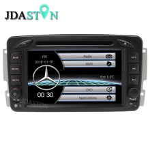 JDASTON Original UI Low Price Car Multimedia Player for Mercedes Benz W203 W208 W209 W210 W463 Bluetooth RDS Radio USB  RADIO FM