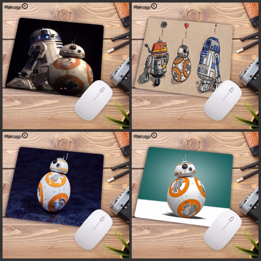 Mairuige High-end Star Wars BB 8 Movie Computer Gaming Keyboard Mouse Pad Mousepads Decorate Your Desk Non-Skid Rubber Pad