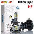 H7 carro LEVOU Farol 80 W 8000LM 4 COB para Automotive Farol Nevoeiro lâmpada H1 H3 H11 9005 9006 881