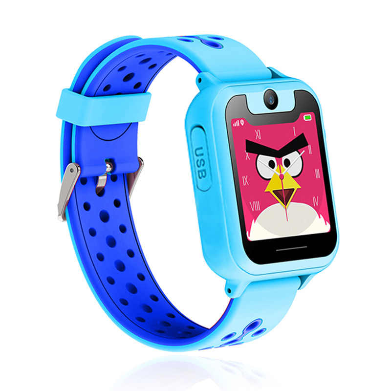 Kids Smart Watch with Touch Screen Camera GPS Tracker Smart Watch Children Monitor SOS for Baby PK Q50 Q90
