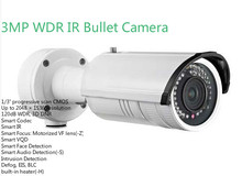 Surveillance Camera DS-2CD4232FWD-I 3MP Smart IP Camera With WDR , IR Distance 30m Full HD 1080P and POE