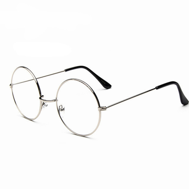 cfe874354f New Fashion wizard 100% pure Titanium Eyeglasses Frames Men women round  Eyeglasses Gold Glasses Frames 5 Color 032