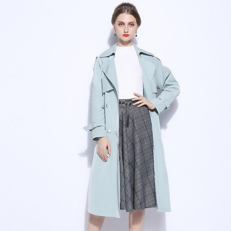 12d910d44d2 Runway 2018 Women Coat Plus Size 5XL Elegant Jacket Spring Fall Boho  Clothing Womens Long Windbreaker Big Coats Jackets Cape-in Trench from  Women s Clothing ...
