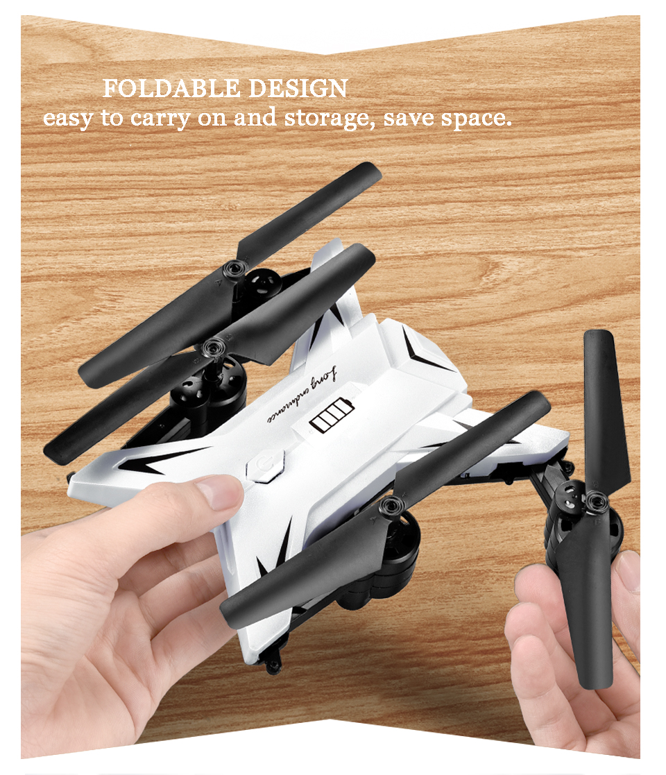T-Rex RC Helicopter Drone with Camera HD 1080P WIFI FPV RC Drone Professional Foldable Quadrocopter Long Battery Life 11