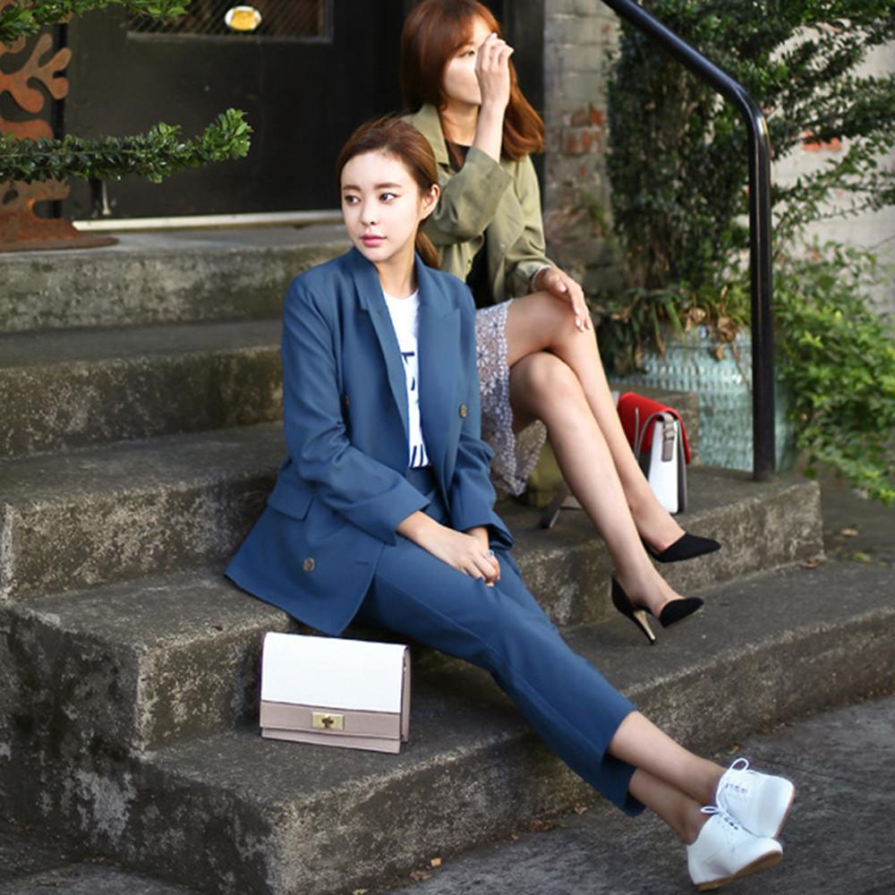 2016-Fashion-Slim-Business-Wear-Elegant-Women-Office-OL-Jacket-Set-Formal-Blazer-Pants-Suit-Feminino (5)
