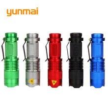 Мощный Новый светодиодный фонарик xpe/q5 мини светильник фонарь