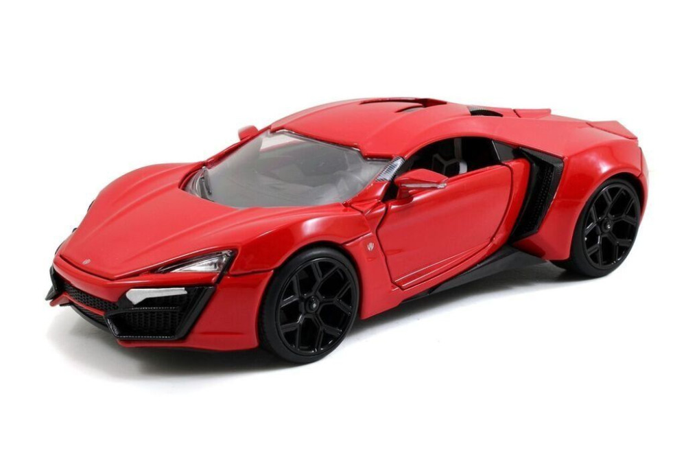 Jada 1:24 FAST & FURIOUS 8 F8 Lykan Hypersport Diecast Model Racing Car NEW IN BOX