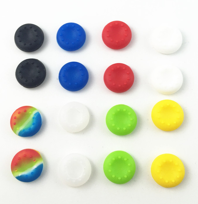 cheapest 1000 Silicone Key Protector Guard Thumb Stick Cover Case Skin Joystick Controller Grip Cap For PS3 PS4 Slim PS4 Pro Xbox one 360
