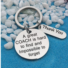Teacher's Day Gift Keychain Fashion Accessories Stainless Steel Charm Keyring Coach Gift Thanks Giving Day(China)
